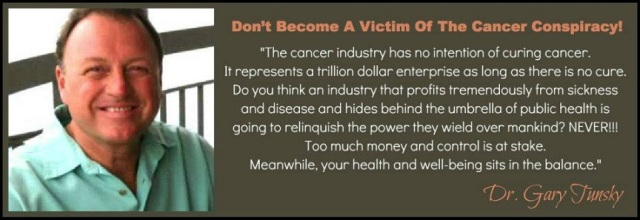 Cancer is scam